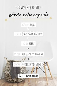 The capsule wardrobe that you already have - Isabelle Piel - - La garde-robe capsule que vous avez déjà choose a wardrobe capsule 2 - Minimalist Wardrobe, Minimalist Living, Minimalist Fashion, Winter Trends, Slow Fashion, Fashion Tips, Fashion Ideas, Fashion Outfits, Ethical Clothing