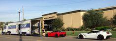 Callaway Corvette SC757's ready for delivery at Callaway's Santa Ana, CA facility.