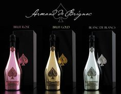 Famous alcoholic brand Armand de Brignac has released a truly luxurious collection of champagne. One bottle of Prestige Cuvees costs about three hundred dollars, and the high price of drinks is quite understandable. Each luxurious finished bottle is stored in a special black briefcase. The collection of Armand de Brignac includes three types of champagne: …