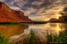 Red Cliff Sunrise by James Neeley, via Flickr