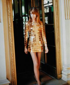 Françoise Hardy in Paco Rabanne More