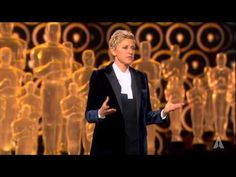 Ellen DeGeneres' Oscars Opening Host Ellen DeGeneres' opening monologue at the Oscars in Ellen And Portia, Dallas Buyers Club, Hollywood Usa, Craig Ferguson, Oscars 2014, Edm Girls, The Late Late Show, Kevin Spacey, Ellen Degeneres