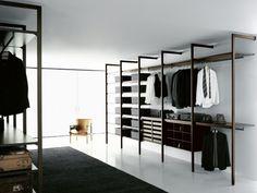 Porro Spa   Prodotti   Sistemi   Cabina armadio / Walk-in closet