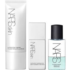 NARS Basic Cleanse Set (965 UAH) ❤ liked on Polyvore featuring beauty products, skincare, face care, beauty, fillers, makeup, eye makeup remover and nars cosmetics