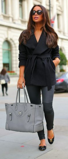 Daily New Fashion : BLACK OUTFITS