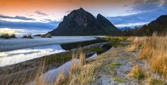 Peaks In Reflections by Lillian  Molstad Andresen