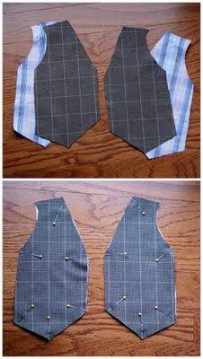 B is for Boy!: Little Gentleman's Faux Vest Onesie