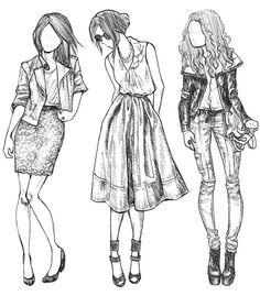Çok güzel 3 küçük kız