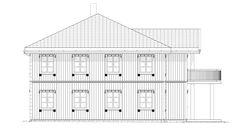 Fasade Odel - et kataloghus fra Norgeshus. Floor Plans, Floor Plan Drawing