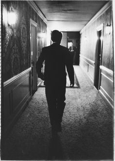 """""""This is the last photograph I ever made of Bobby Kennedy as he walked down the hall from his suite in the Ambassador Hotel on the night of June 4, 1968,"""" Stanley Tretick's wrote on the back of this image. """"A day later would be dead from an assassin's bullet."""