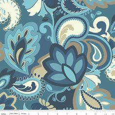 9.50 from Hawthorne Threads Emily Taylor - Vintage Verona - Main in Navy