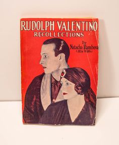 Rare Vintage Rudolph Valentino Recollections by PickingPittsburgh