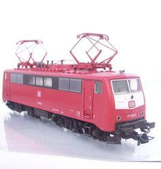 #FLEISCHMANN 4347 - HO - GERMAN DB AG EURO CITY CLASS BR 111 ELECTRIC LOCOMOTIVE