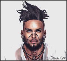https://flic.kr/p/LnjTLn | New Blake Head Catwa