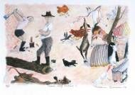 Philip Bacon Galleries :: Artists & Stockroom  A William Robinson lithograph #goatvet likes they way he captures typical goat behaviour