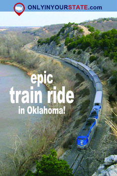 Oklahoma's Amtrak train is the Heartland Flyer and takes passengers from Oklahoma City to Fort Worth, Texas, with multiple stops along the way. Let's take a look at this epic train ride. Vacation Destinations, Vacation Spots, Vacation Ideas, Italy Vacation, Vacation Trips, Weekend Trips, Day Trips, Weekend Getaways, Train Travel