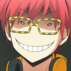 707, Luciel, Saeyoung Choi, Korosensei smile, funny, Assassination Classroom, crossover; Mystic Messenger