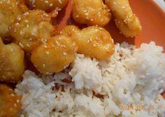 Szezámmagos csirke | cskacsa receptje - Cookpad receptek Salty Foods, Fine Dining, Main Dishes, Food Porn, Goodies, Food And Drink, Turkey, Rice, Asian