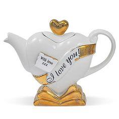 designer teapots seen at curiousphotos.blogspot.com