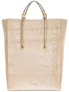 CALVIN KLEIN - OH Santa, where are you when I need you?  I would be so content with this bag!  ♥