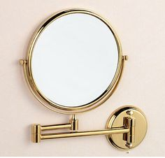 Image result for gold bathroom mirror