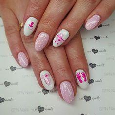 Paznokcie dla przyszłej mamy  Zdobienie Farbkami UV SPN Nails Nails by…