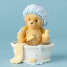 Cherished Teddies Figurine Bear Tub Bath with Duckie CT1403 Scrub A Dub | eBay
