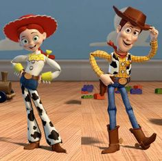 Toy Story - Jessie and Woody