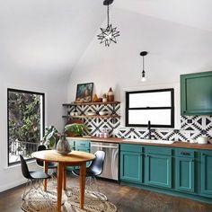 #Colorful #kitchen Charming Interior European Style Ideas