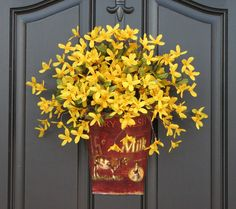 ok, not that kind of tin, but maybe something like this for the front door?