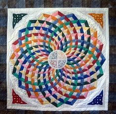 Dancing Ribbons Quilt – Pattern Free