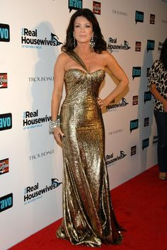 Lisa Vanderpump Day Dress - Lisa Vanderpump Looks - StyleBistro