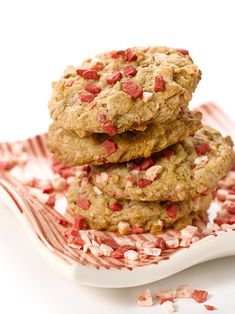 Holiday Peppermint Crunch Cookies