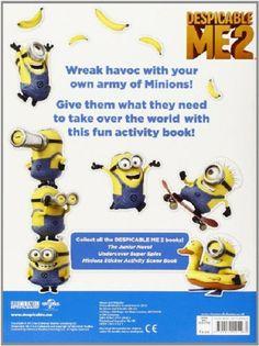 minion sticker activity book: minion sticker activity book