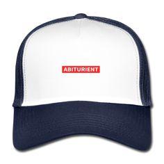 17Shirts Lustige und bunte Kleidung | Abiturient - Trucker Cap Cool Instagram, Streetwear, Influencer, Retro Stil, Snapback Cap, Shirts, Mens Fashion, Navy, Mom