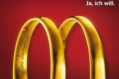 The Print Ad titled YES I DO was done by Ccp Heye advertising agency for product: Mcdonald's (brand: McDonald's) in Austria. Creative Advertising, Ads Creative, Advertising Design, Good Advertisements, Advertising Poster, Advertising Campaign, Street Marketing, Guerilla Marketing, Web Banner Design
