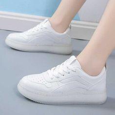 Women's #white casual shoe #sneaker stripe design Striped Shoes, White Shoes, White Plains, Shoe Shop, Stripes Design, Casual Shoes, Running Shoes, Shoes Sneakers, White Casual