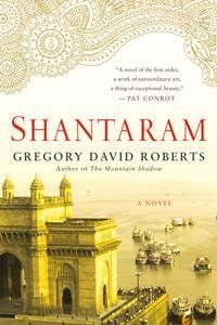 The cover of the book Shantaram