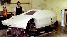 """Each day the shape became a little more like a """"car"""".  The foam was very soft and easily broken at this point. It could be shaped by just the palm of your hand."""
