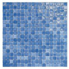 #Sicis #Natural Deep sea 1,5x1,5 cm | #Murano glass | on #bathroom39.com at 154 Euro/box | #mosaic #bathroom #kitchen