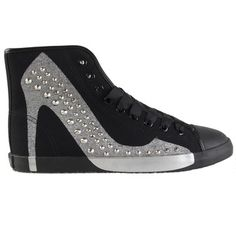 Hey+Stud+Sneaker+Silver,+$158, now featured on Fab.