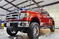 "2013 MSA Edition F150 XLT - 6.5"" McGaughy's suspension lift 