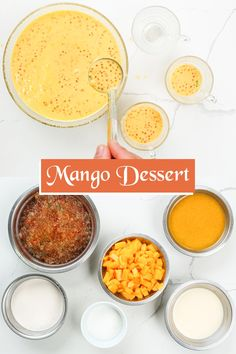 This Mango Sago is an easy Filipino dessert recipe made with fresh mango chunks, tapioca pearls, and coconut milk! It's a delicious summer dessert and perfect for parties or any occasions! Filipino Desserts, Asian Desserts, Summer Desserts, Mango Sago, Mango Float, Mango Varieties, Mango Drinks, Mango Ice Cream, Frozen Fruit