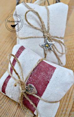 Lavender Sachet Bundles make great gifts! www.homeroad.net