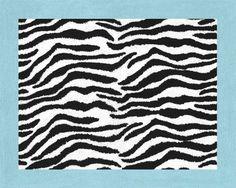 Turquoise Funky Zebra Accent Floor Rug by Sweet Jojo Designs Sweet Jojo Designs http://www.amazon.com/dp/B004AKY5V6/ref=cm_sw_r_pi_dp_Wnvxub0X3P6B7