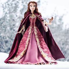 The Disney Store have announced a new Belle Limited Edition Doll is set to be released online and at selected stores on the September in Europe and on [. Disney Collector Dolls, Disney Barbie Dolls, Disney Princess Dolls, Disney Princesses, Pretty Dolls, Beautiful Dolls, Fera Disney, Disney Disney, Disney Pics