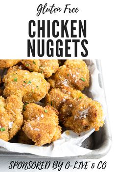 I am so excited to share my recipe for Southern style gluten free chicken nuggets made in the oven using O-Live Gluten Free Recipes For Dinner, Dinner Recipes, Gluten Free Bread Crumbs, Free Chickens, Meat Recipes, Yummy Recipes, Chicken Recipes, Gluten Free Chicken, Chicken Nuggets