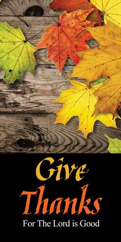 Church Banner - Fall & Thanksgiving - Give Thanks Thanksgiving Iphone Wallpaper, Church Banners, Give Thanks, Thankful, Ship, Printed, Fall, Business