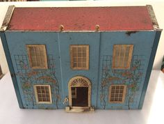 Vintage Doll's House Metal/Tin 1950's? | eBay .....Rick Maccione-Dollhouse Builder www.dollhousemansions.com