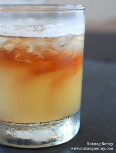 Bourbon and Ginger Ale by Nutmeg Nanny